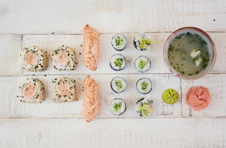sushi zestaw